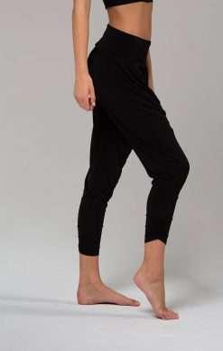 Onzie harem yoga pants black