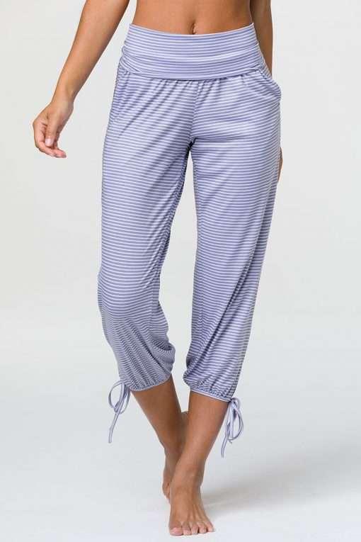 onzie yoga gyspy pants fossil stripe