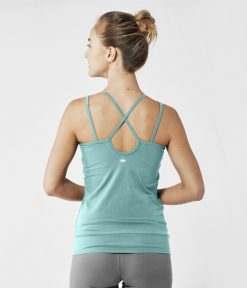 lotuscrafts yoga top sea green