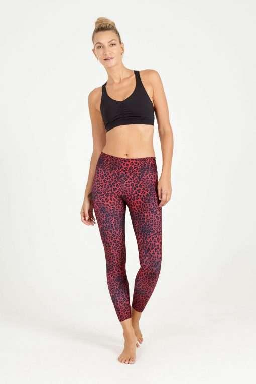 dharma bums night cat high waisted midi yoga leggings