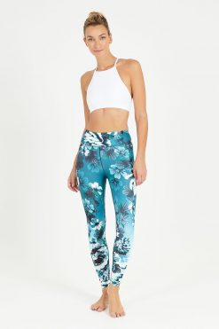 dharma bums everglades high waisted midi yoga leggings