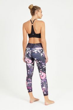 dharma bums akiko midi high waisted yoga leggings