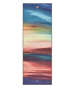 Yogitoes Bikram Hot Yoga Towel sunset non slip