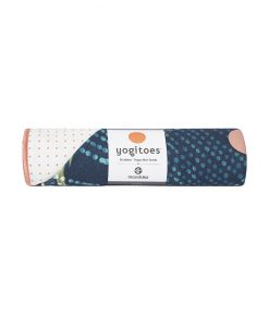 Yogitoes Bikram Hot Yoga Towel flora non slip