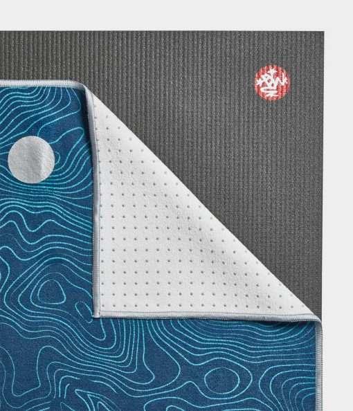 Yogitoes Bikram Hot Yoga Towel sea life non slip