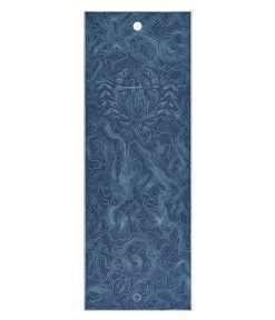 Yogitoes Bikram Hot Yoga Towel sea life non slip