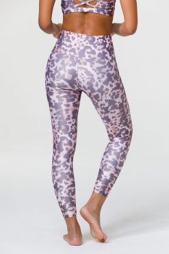 Onzie midi yoga leggings wild thing animal print