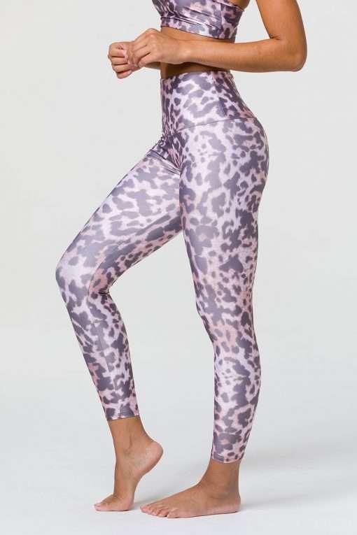 Onzie midi yoga leggings wild thing animal print