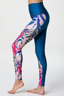 onzie high waisted full length boca yoga leggings