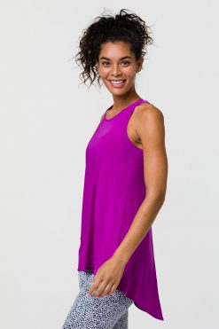 onzie orchid tie back top