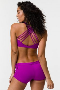 onzie chic bra top orchid yoga
