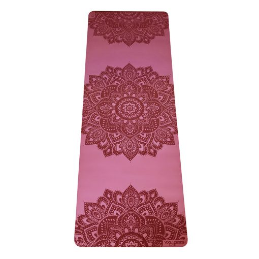 yoga design lab infinity mat rose