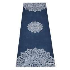 yoga design lab yoga towel mandala sapphire