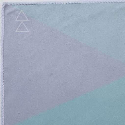yoga design lab yoga towel geo blue