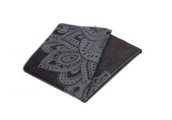 yoga design lab yoga towel mandala black