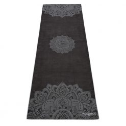 yoga design lab yoga towel mandala black