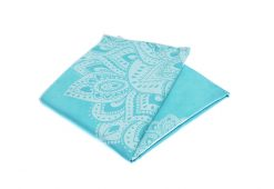 yoga design lab yoga towel mandala turquiose