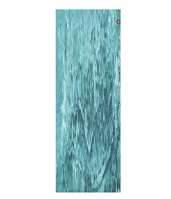manduka superlite travel yoga mat bondi blue marbled