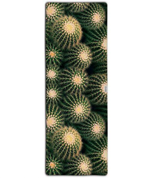 leus hot yoga towel cacti