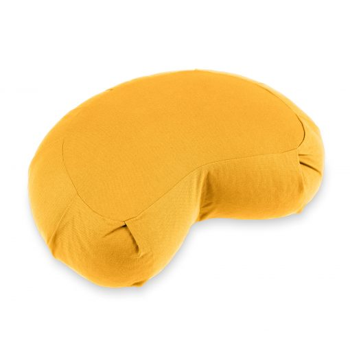 lotuscrafts mediation saffron yellow cushion zafu