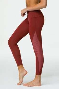 Onzie Shape Midi yoga leggings warm Pinecone