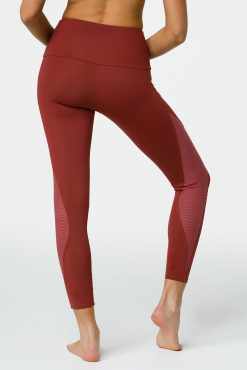 Onzie Shape Midi yoga leggings warm Pinecone