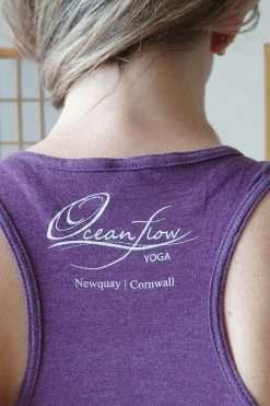 Oceanflow Yogawear Yoga Vest Top aubergine