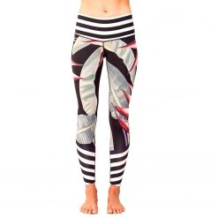 spirit girl bird of paradise leggings