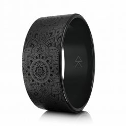 Yoga Design Lab Yoga Wheel Black Mandala