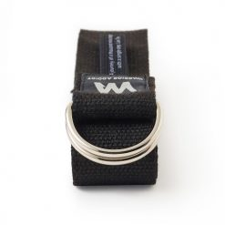 Warrior Addict eco warrior organic yoga strap black