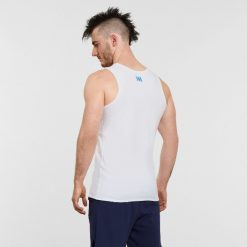 Warrior Addict Mens Yoga Tank Top White