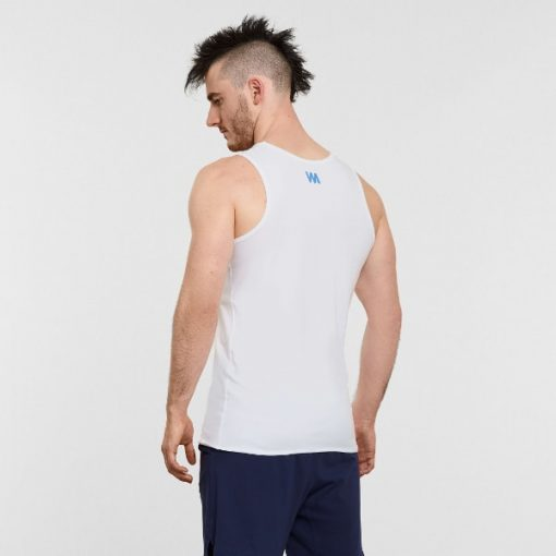 Warrior Addict Mens Yoga Tank Top White