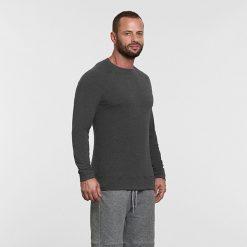 Warrior Addict Mens Yoga long sleeve T shirt its the weekend Grey