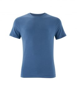 Warrior Addict Mens Yoga Tee T shirt Blue
