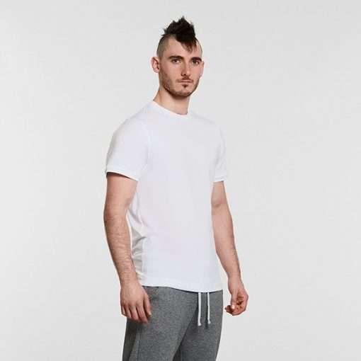 Warrior Addict Mens Yoga Tee T shirt White