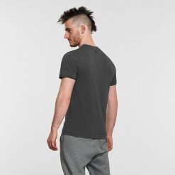 Warrior Addict Mens Yoga Tee T shirt Grey