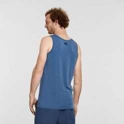 Warrior Addict Mens Yoga Tank Top Blue