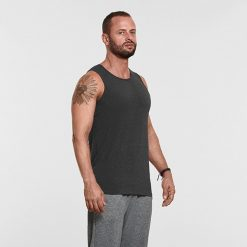 Warrior Addict Mens Yoga Tank Top Grey