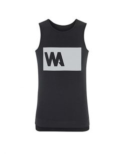 Warrior Addict Mens Inversions Yoga Tank Top Black