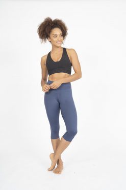 dharma bums indigo crop wonder luxe leggings