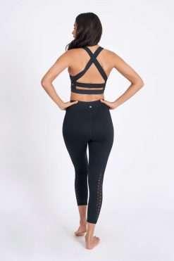 dharma bums laser leggings black