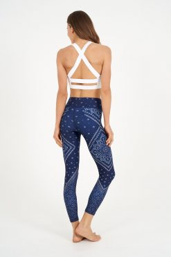 dharma bums yoga leggings gypsy heart high waisted recycled