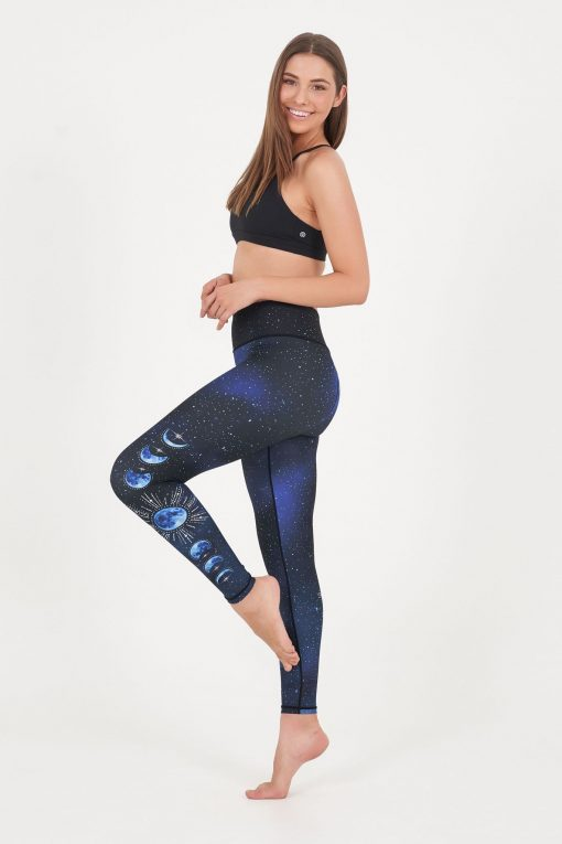 dharma bums yoga leggings la luna high waisted recycled