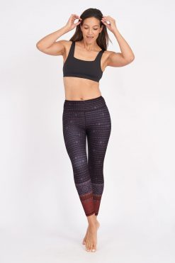 dharma bums yoga leggings montana high waisted recycled
