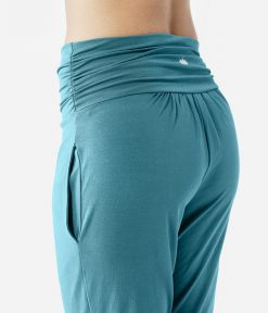 lotuscrafts yoga pants petrol