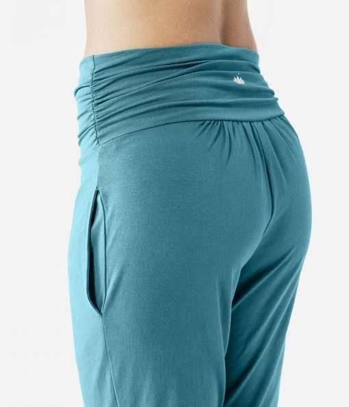 lotuscrafts yoga pants petrol