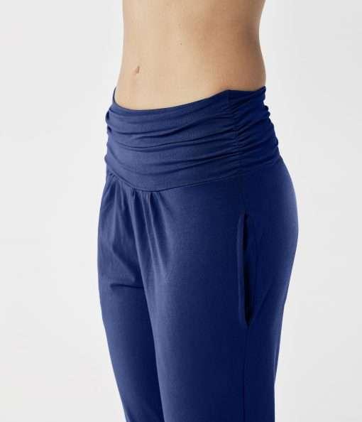 lotuscrafts yoga pants royal blue