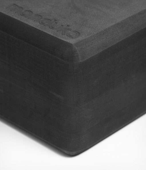manduka recycled foam yoga block brick thunder 2