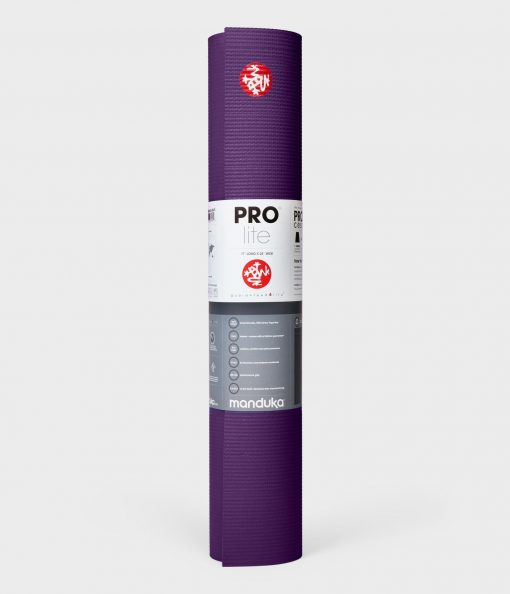 Manduka prolite pro lite yoga mat black black magic purple