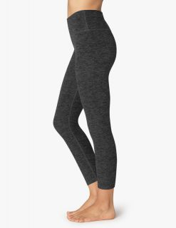 Beyond Yoga Spacedye Midi Black Charcoal